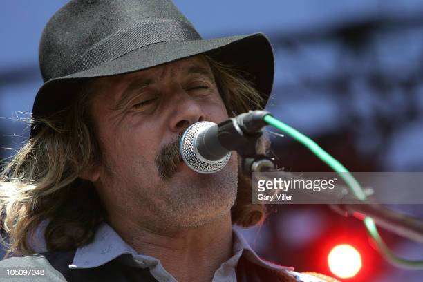 Musician/vocalist Donavon Frankenreiter performs during day 1 of the Austin City Limits Music Festival at Zilker Park on October 8, 2010 in Austin,...