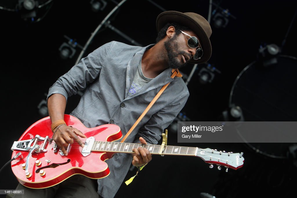 Musician/vocalist Gary Clark Jr. performs during the 2012 Bonnaroo Music and Arts Festival on June 10, 2012 in Manchester, Tennessee.