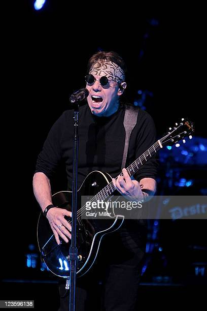 Musician/vocalist George Thorogood performs in concert at ACLLive on April 21 2011 in Austin Texas