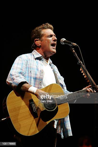 Musician/vocalist Glenn Frey performs in concert with The Eagles during day 3 of the Austin City Limits Music Festival at Zilker Park on October 10,...