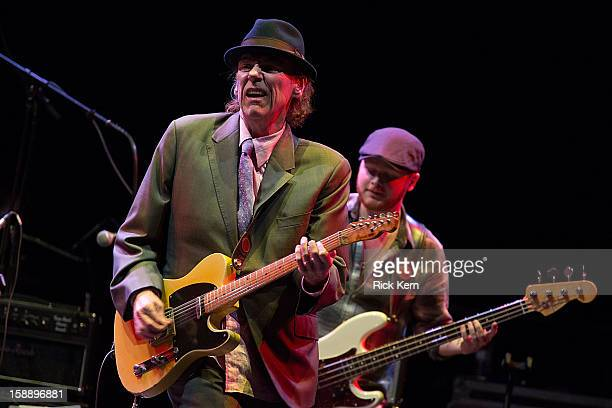 Musician/vocalist John Hiatt performs in concert at ACL Live on January 2 2013 in Austin Texas