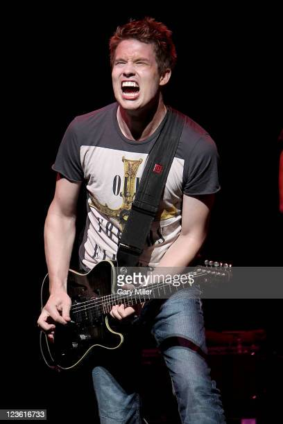 Musician/vocalist Jonny Lang performs in concert at ACLLive on April 21 2011 in Austin Texas