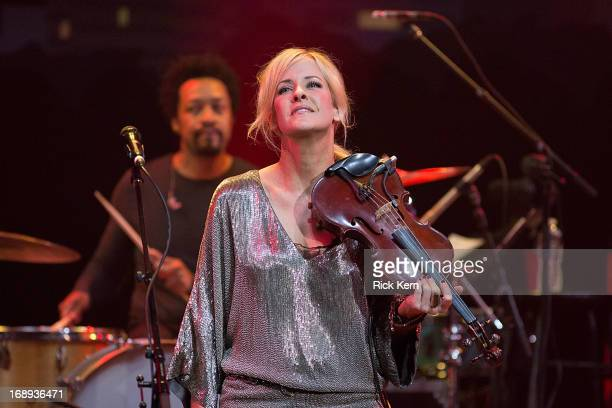 Musician/vocalist Martie Maguire of the Court Yard Hounds performs in concert during the KLRU AllStar Celebration at ACL Live on May 16 2013 in...