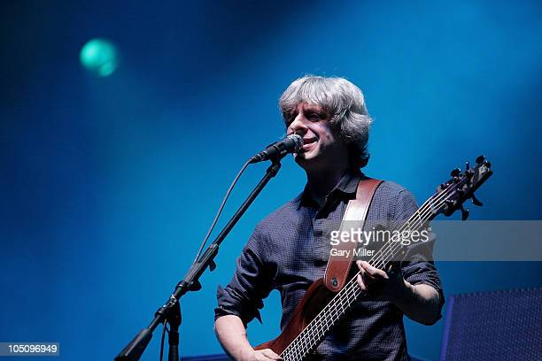 Musician/vocalist Mike Gordon performs with Phish during day 1 of the Austin City Limits Music Festival at Zilker Park on October 8, 2010 in Austin,...