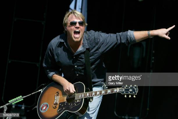 Musician/vocalist Pat Green performs during day 1 of the Austin City Limits Music Festival at Zilker Park on October 8, 2010 in Austin, Texas.