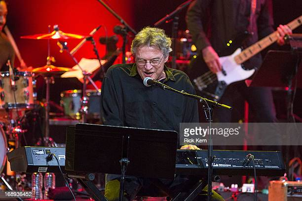 Musician/vocalist Terry Allen performs in concert during the KLRU All-Star Celebration at ACL Live on May 16, 2013 in Austin, Texas.