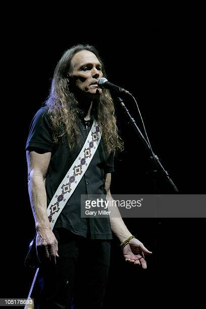 Musician/vocalist Timothy B. Schmidt performs in concert with The Eagles during day 3 of the Austin City Limits Music Festival at Zilker Park on...