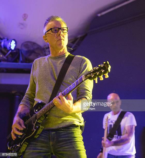 Musician/vocalist Vaden Todd Lewis and Doni Blair of the Toadies perform in concert at Stubb's BarBQ on November 10 2017 in Austin Texas