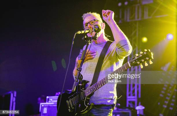 Musician/vocalist Vaden Todd Lewis of the Toadies performs in concert at Stubb's BarBQ on November 10 2017 in Austin Texas