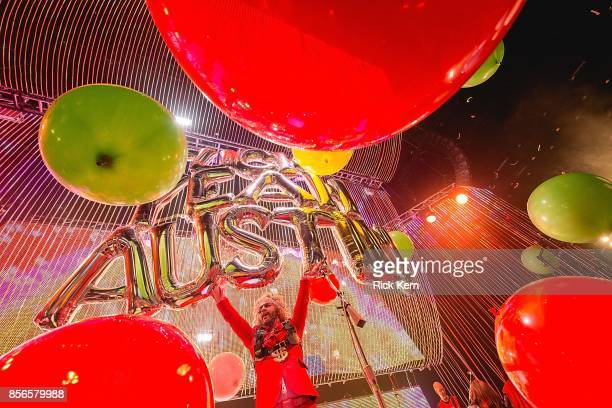 Musician/vocalist Wayne Coyne of The Flaming Lips performs performs in concert at ACL Live on October 1 2017 in Austin Texas