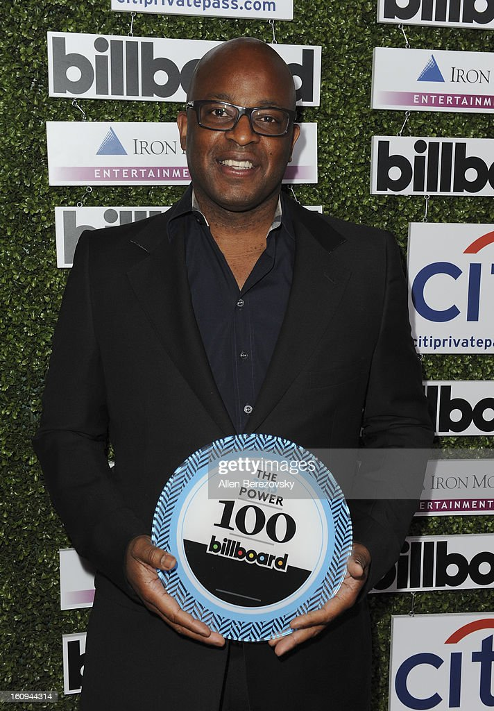 Musicologist Frank Cooper attends the 1st Annual Billboard Power 100 Event honoring Clive Davis at The Redbury Hotel on February 7, 2013 in Hollywood, California.