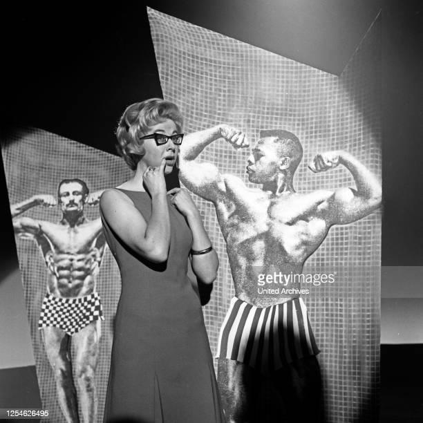 Musik aus Studio B, Musiksendung, Deutschland 1962, Gaststar: Ingelind.