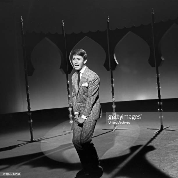 Musik aus Studio B, Musiksendung, Deutschland 1962, Gaststar: Rex Gildo.