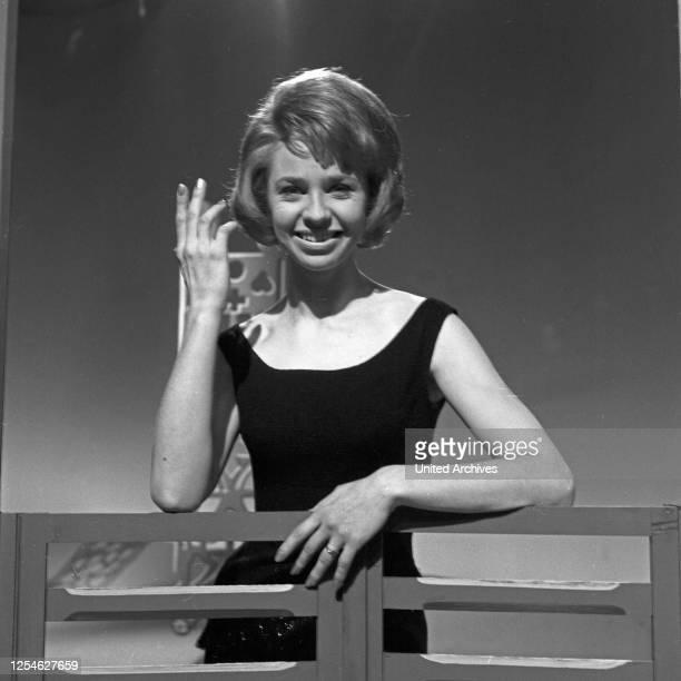 Musik aus Studio B, Musiksendung, Deutschland 1963, Gaststar: Astrid Lindblom.