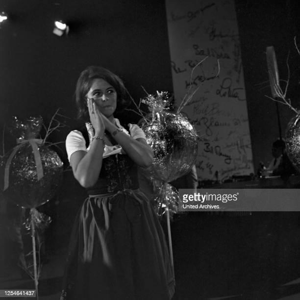 Musik aus Studio B, Musiksendung, Deutschland 1966, Gaststar: Wencke Myhre.