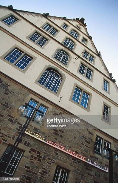 musik instrument museum at karlsplatz. - musik stock pictures, royalty-free photos & images