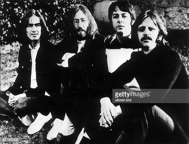 Musikergruppe GBvl George Harrison John LennonPaul McCartney Ringo Starr1970