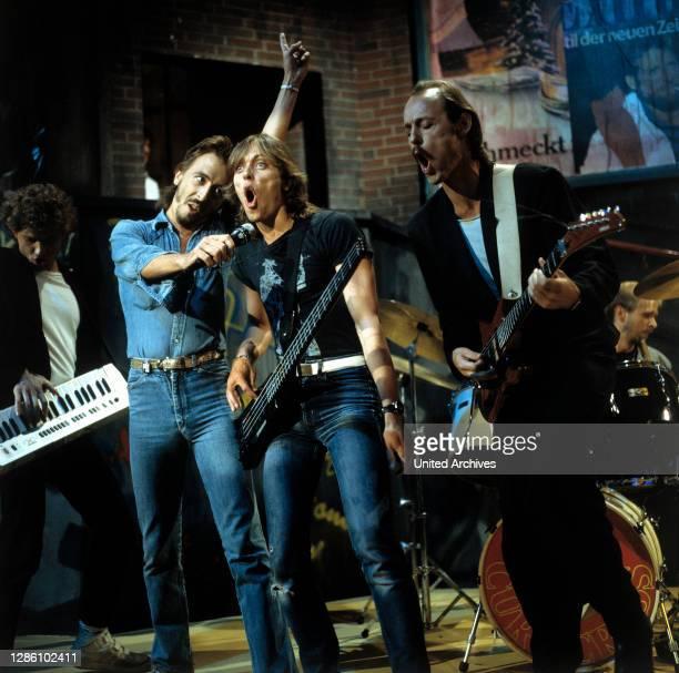 Musikgruppe, 1983. / Musik, Gruppe, 80er.
