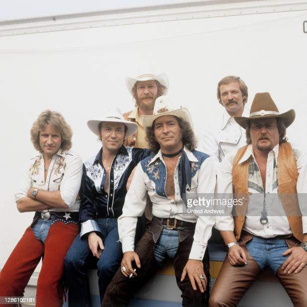 Musikgruppe, Country Music, 1981. Musik, Gruppe, Country, 80er, Lucius B. Reichling.