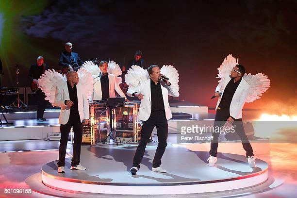 Musikgruppe Die Fantastischen Vier Smudo Thomas D Michi Beck And Ypsilon ZDFShow Wetten dass TUIArena Hannover Niedersachsen Deutschland Europa Bühne...