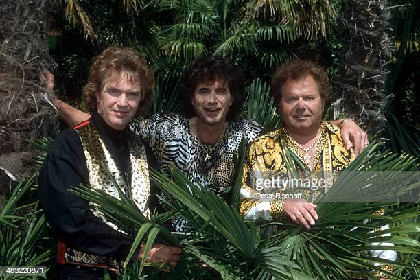 Musikgruppe Die Flippers Bernd Hengst Olaf Malolepski Manfred Durban ZDFSpecial Liebe ist mein erster Gedanke Italien