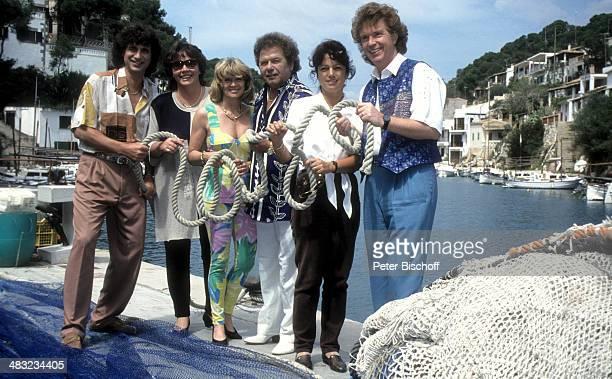 Musikgruppe 'Die Flippers' Olaf Malolepski Ehefrau Sonja Helene Durban Manfred Durban Edith Hengst Bernd Hengst 1 ZDFTVSpecial 'Die Flippers auf...