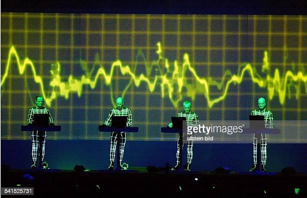 Musikgruppe; Elektro-Pop; DAuftritt im Kölner Palladium