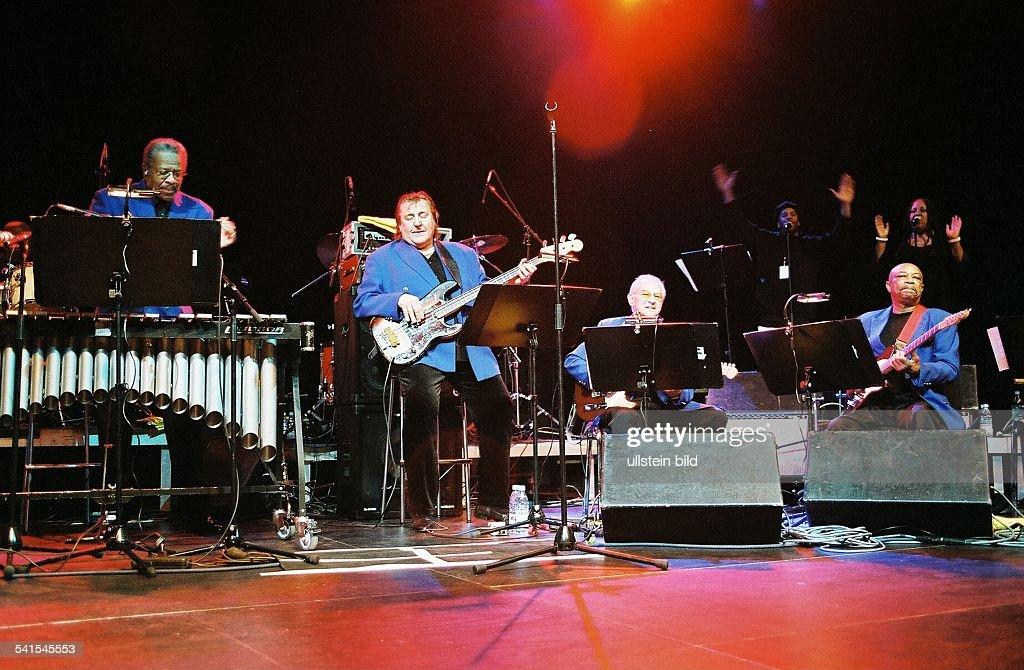 Funk Brothers; Funkband; USA - Auftritt im Tempodrom in Berlin : Nachrichtenfoto