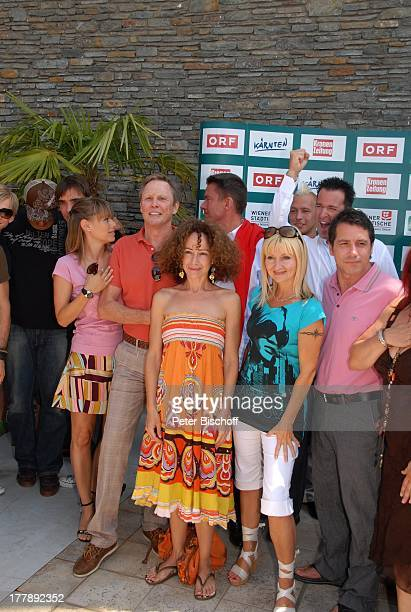 Musikgruppe Marquess Francine Jordi Peter Kraus Sandra Pires Alfons Haider Astrid Saraph Michael Wendler Bruno Ferrara StarTreff vor ORFMusikshow...