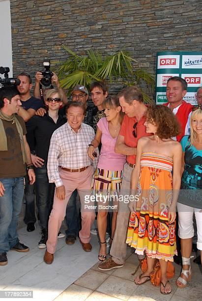 Musikgruppe Marquess Karel Gott Francine Jordi Peter Kraus Sandra Pires Alfons Haider Astrid Saraph StarTreff vor ORFMusikshow Starnacht am...