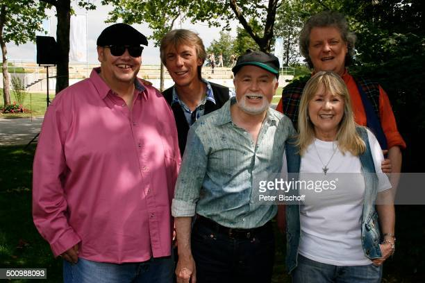 Musikgruppe Middle of the road Stewart Mc Ewan Shug Devlin Ken Andrew Kenny Mc Kay Sally Carr ZDFShow Fernsehgarten Mainz RheinlandPfalz Deutschland...