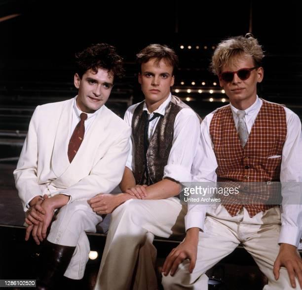 Musikgruppe, Neue Deutsche Welle, 1984. Musik, Gruppe, Neue Deutsche Welle, 80er, Jugendkultur, 1980er.