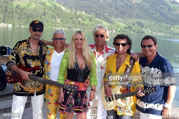 'Saragossa Band' Wolfgang Gleixner Andy Bielan Jutta Niedhardt Evert van der Waal Alfred Rudek Harry Karrer ZDFMusikshow ' Ab in den Urlaub ' 4 Folge...