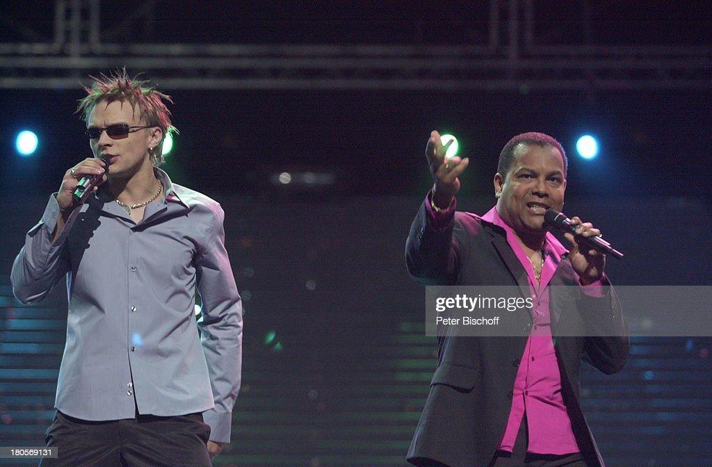 Musikgruppe 'Tanel Badar und Dave Benton' (v.l.n.r.), (Estland, : News Photo