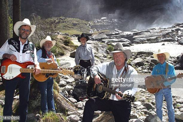 """Truck Stop"", ZDF-Musikshow "" Ab in den Urlaub "", 4. Folge, Salzburger Land /; sterreich, ""Nationalpark Trachtenbacheck"", , Sänger, Musiker, Gitarre,..."