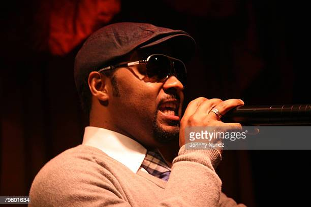 Musiq Soulchild attends the 2008 NBA AllStar in New Orleans ESPN The Magazine's Chicken `N' Waffles event at Harrah's Hotel February 16 2008 in New...