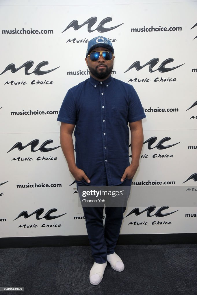 Musiq Soulchild visits Music Choice on September 13, 2017 in New York City.
