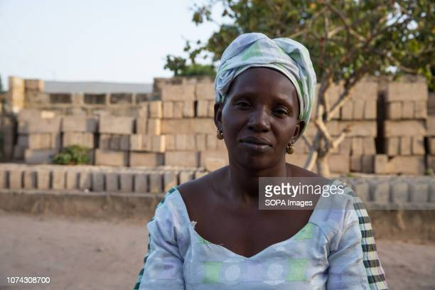 """Muskeba Jarjue whose mother died shortly after drinking hallucinogenic liquid during a 2009 """"witch hunt"""" in Sintet, western Gambia. Former Gambian..."""