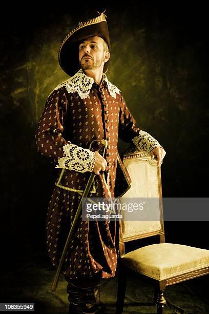 musketier s pride - renaissance stock-fotos und bilder