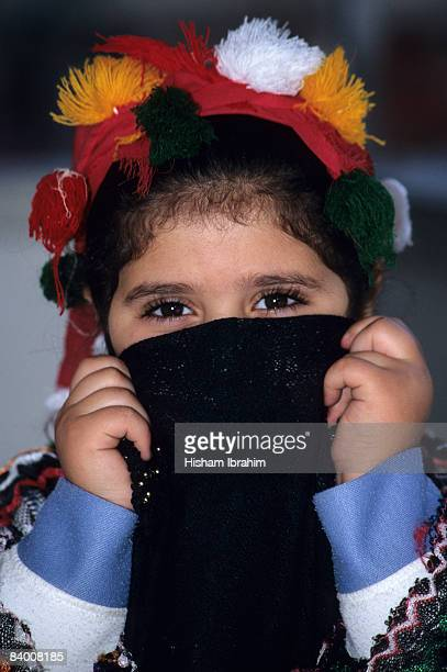 Muslim Arab young girl, Cairo, Egypt
