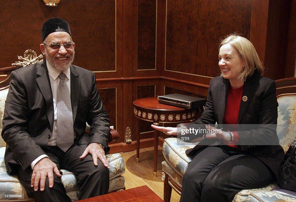 Muslim brotherhood leader Mohammed Badie : News Photo