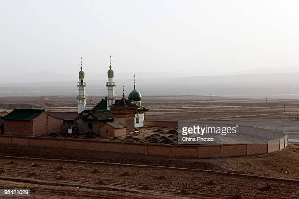 Muslim domeshaped tombs are seen on March 12 2010 in Xihaigu Tongxin County of Ningxia Hui Autonomous Region north China Xihaigu is the general name...