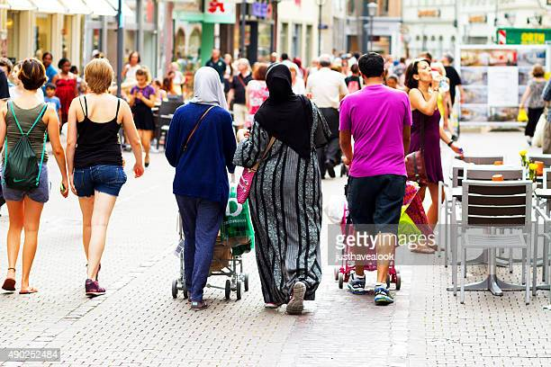 Muslimische Familie in Heidelberg