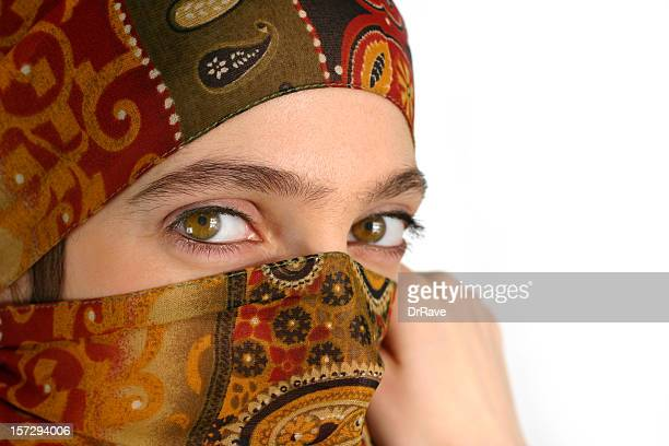 muslim girl 10 - persian girl stock photos and pictures