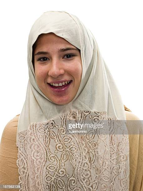 muslim high school girl - iranian culture stock photos and pictures