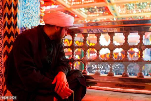 Muslim in mosque