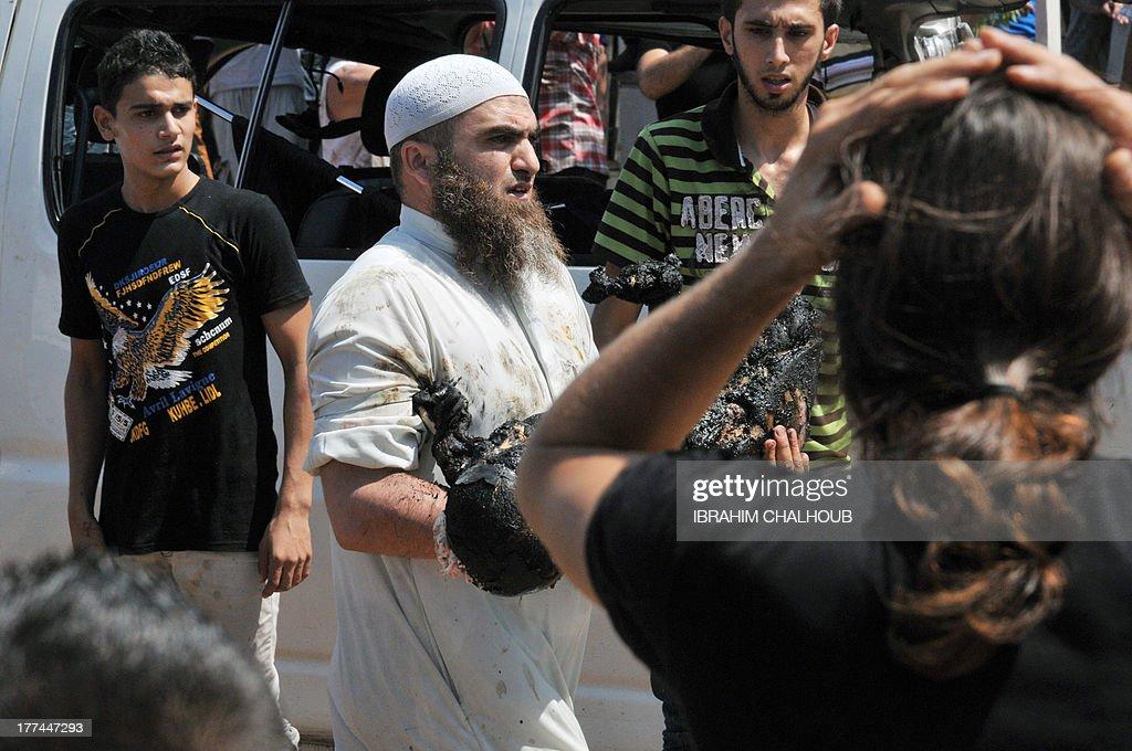 LEBANON-UNREST-BLAST-TRIPOLI : News Photo