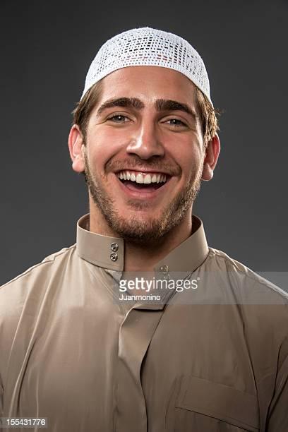 Muslim Man Laughing