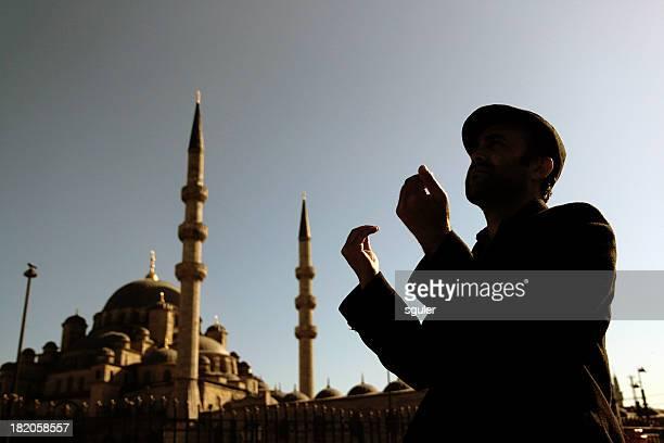 Prière musulmane homme