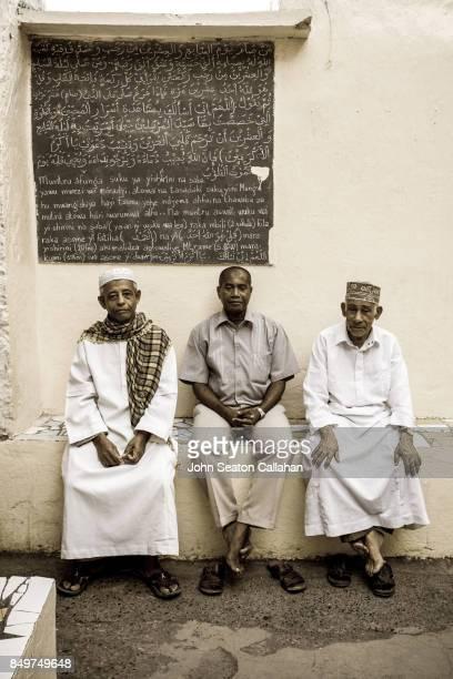 Muslim Men on Anjouan Island